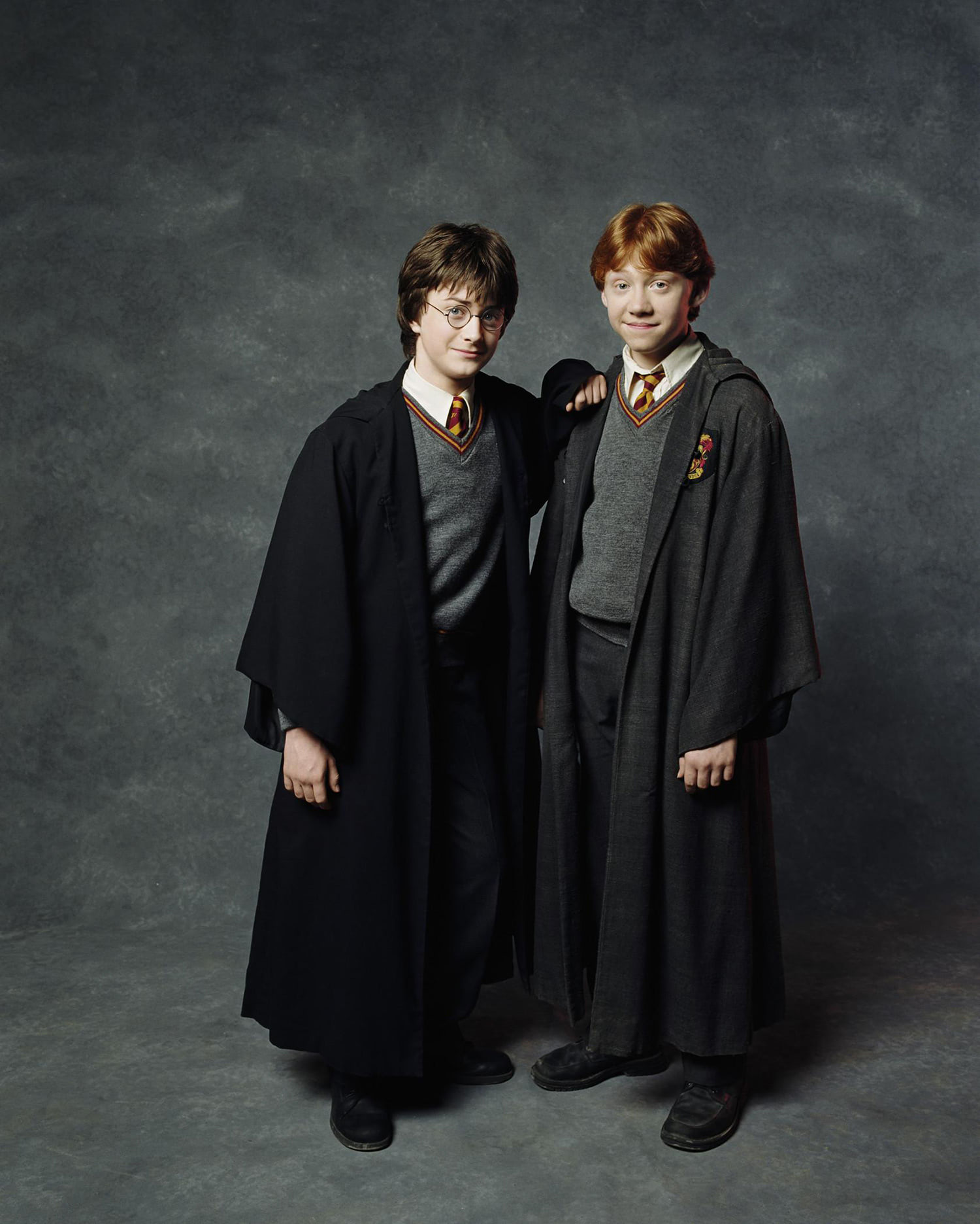 Portrait of Harry Potter and Ron Weasley