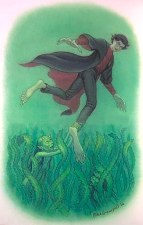 Harry and the Merpeople (Giles Greenfield illustration)