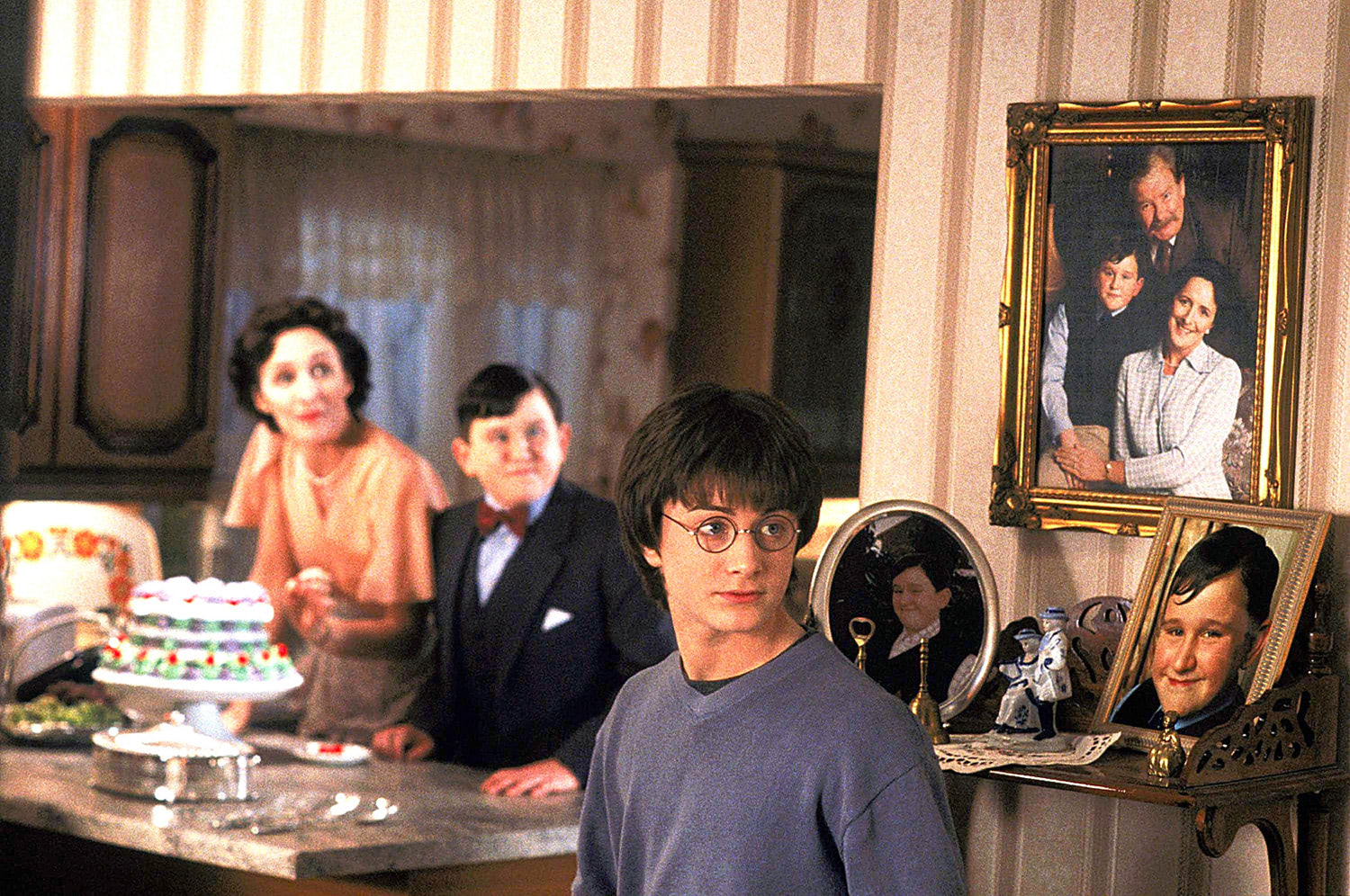 Harry at the Dursleys