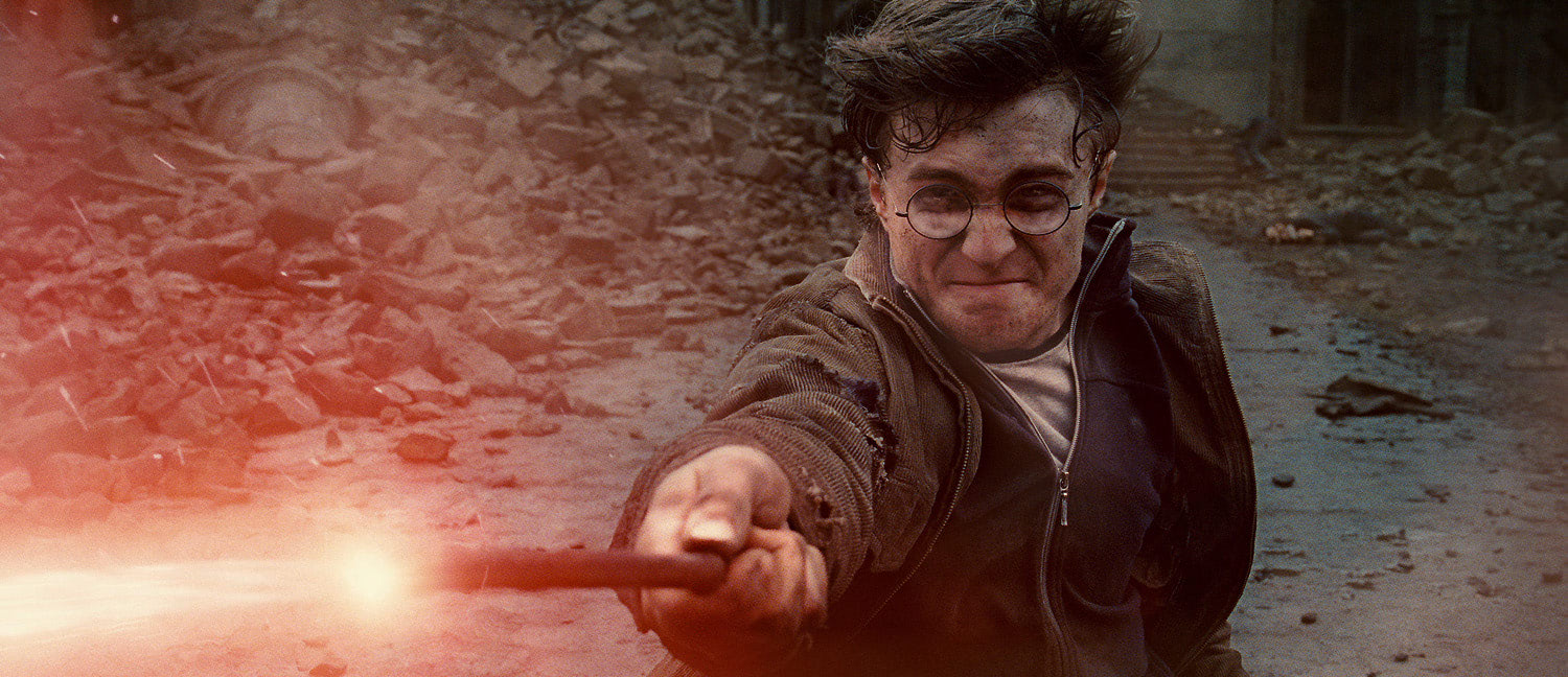 Harry during the final battle