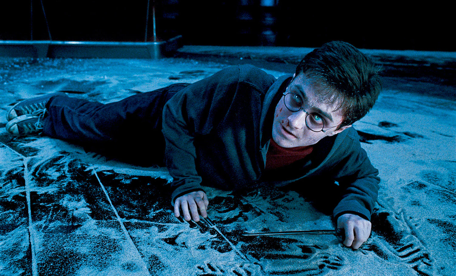 Harry possessed by Voldemort