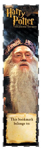 Albus Dumbledore bookmark