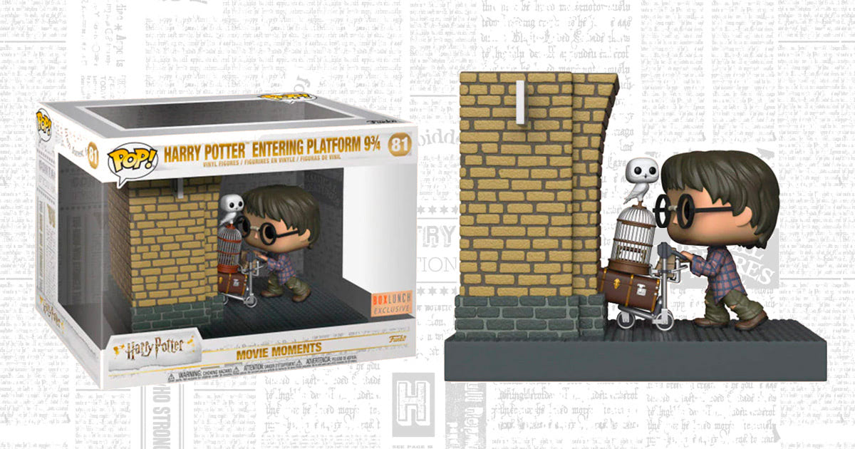 Funko to release new 'Movie Moments' Pop! of Harry Potter entering Platform 9¾