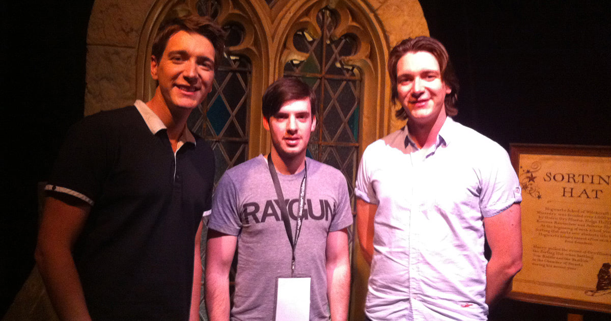 James and Oliver Phelps launch 'Harry Potter: The Exhibition' in Sydney