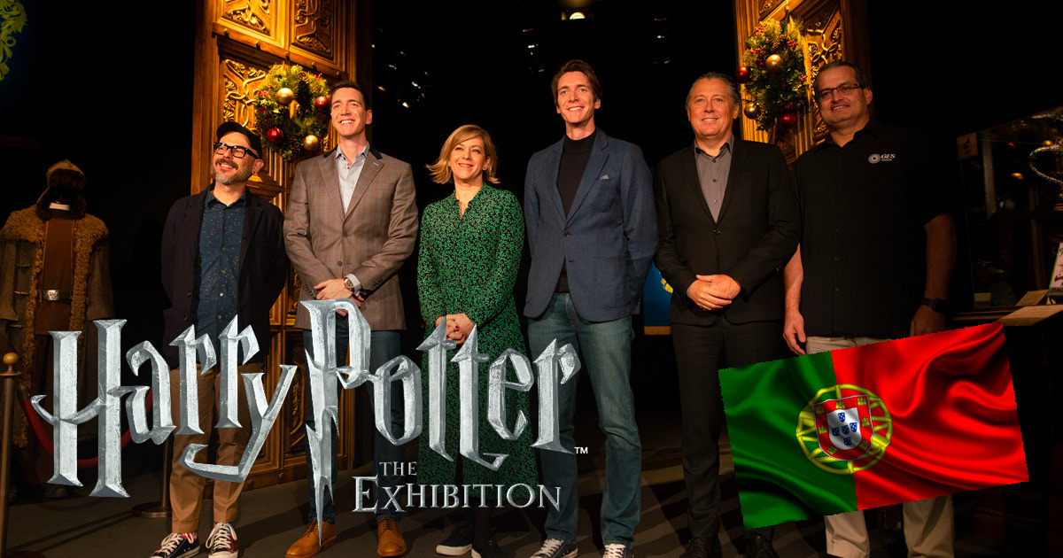 James and Oliver Phelps launch 'Harry Potter' exhibition in Portugal
