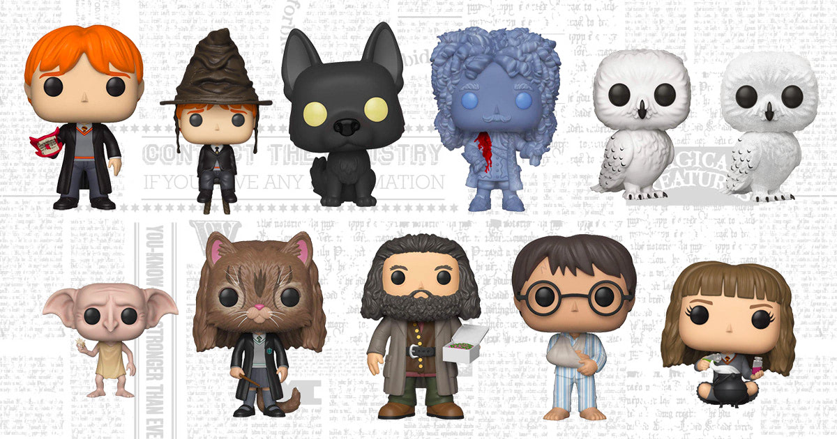 Funko to release new collection of 'Harry Potter' Pop! Vinyl figures, pre-order now