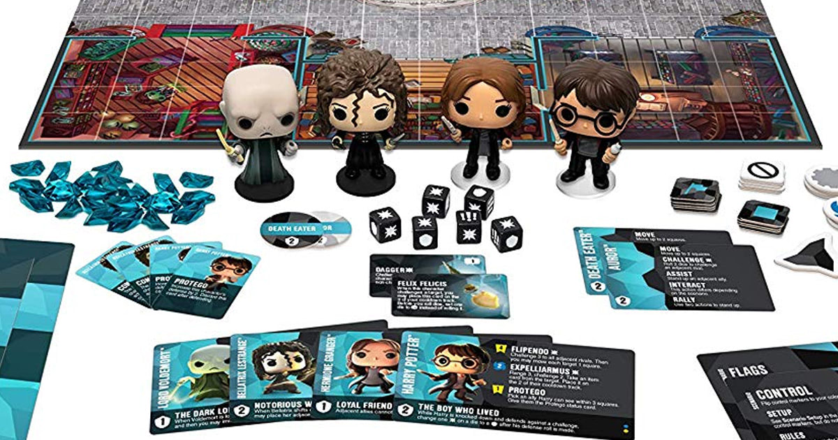Funko to release two 'Harry Potter' tabletop strategy games