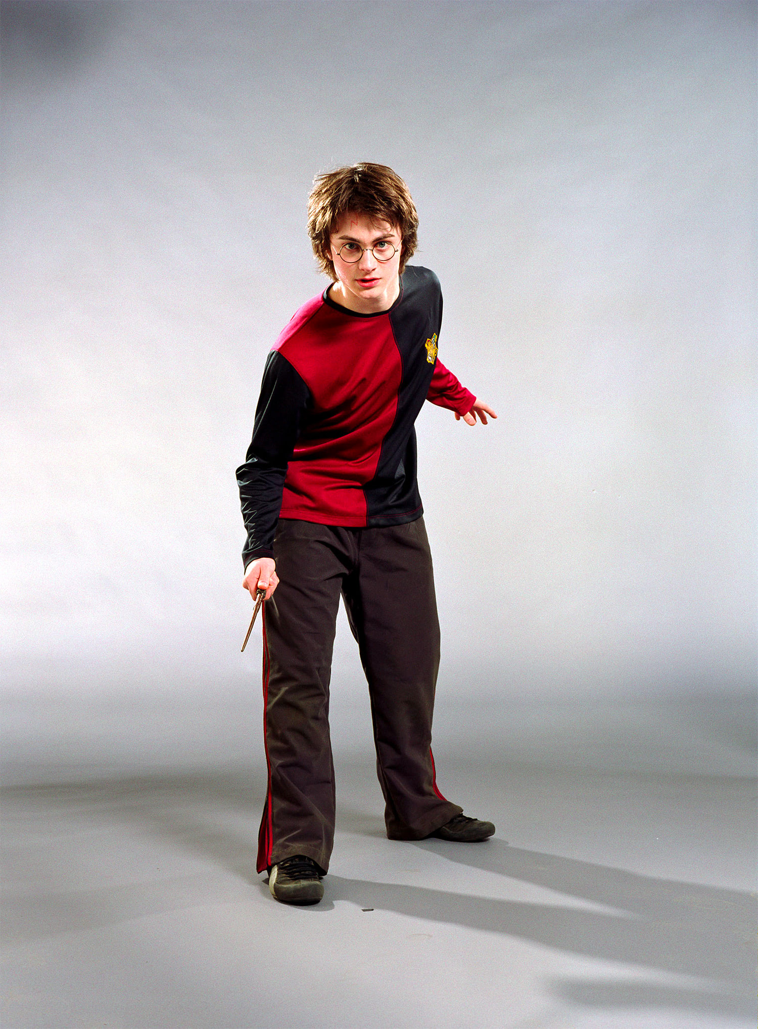 Portrait of Harry Potter in his Third Task robes