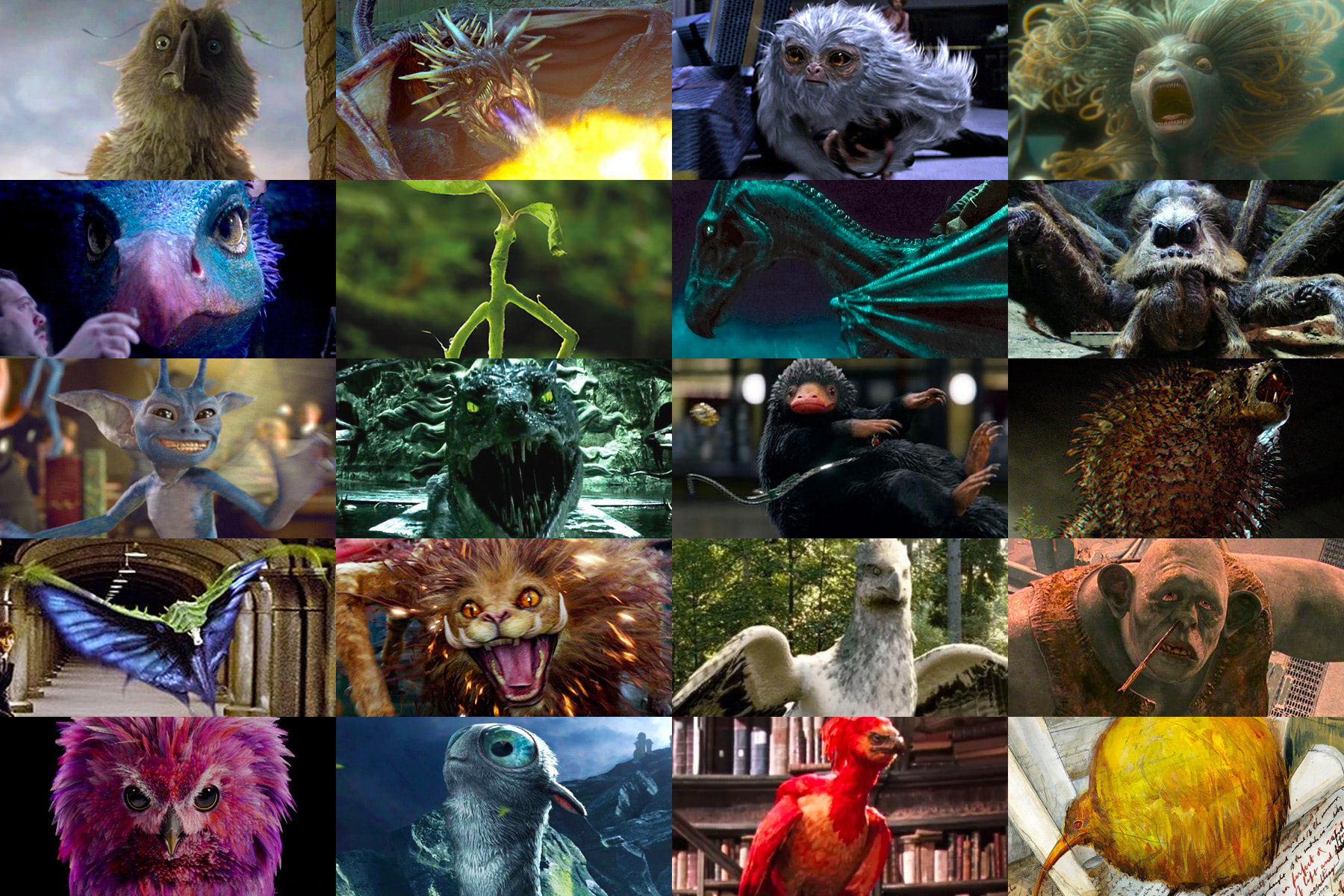 'Harry Potter' magical creatures