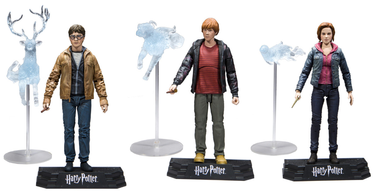 McFarlane Toys to produce official range of 'Harry Potter' action figures