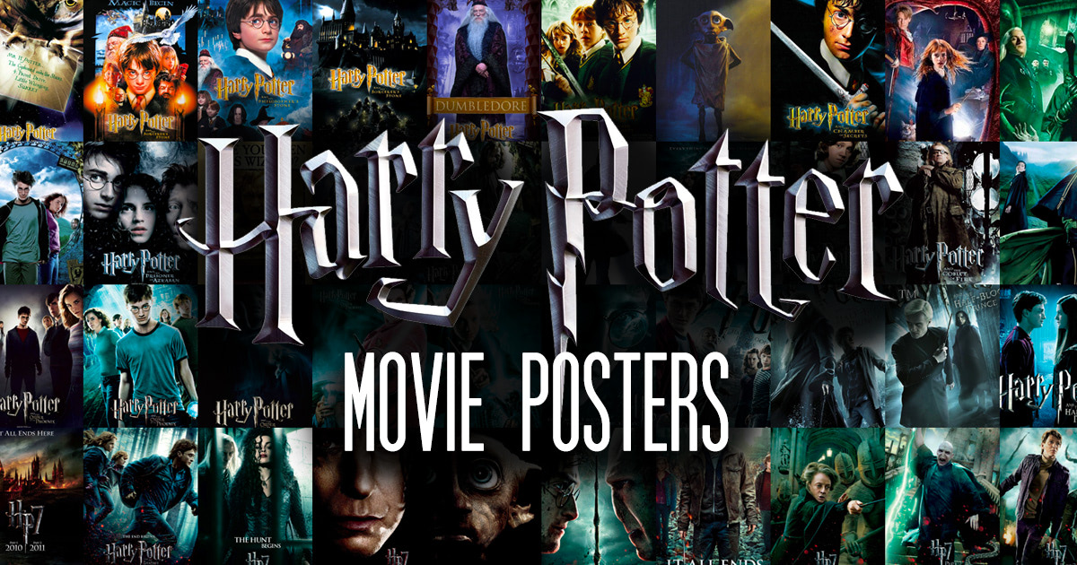 'Harry Potter' movie posters