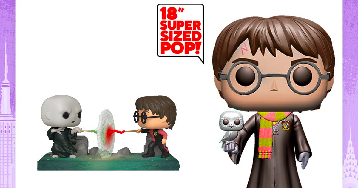 Funko reveal two new 'Harry Potter' Pop! figures ahead of New York Toy Fair