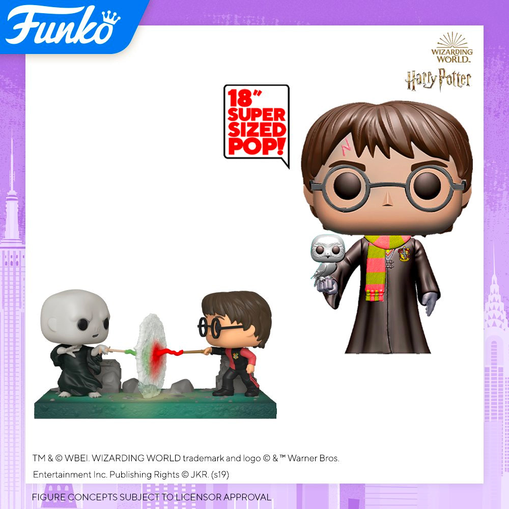 Two new Harry Potter Funko Pop! Vinyls will be unveiled at New York Toy Fair
