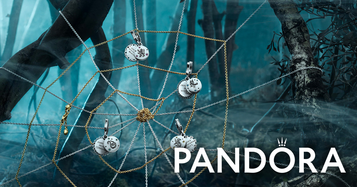 Pandora launches 'Harry Potter' jewellery line