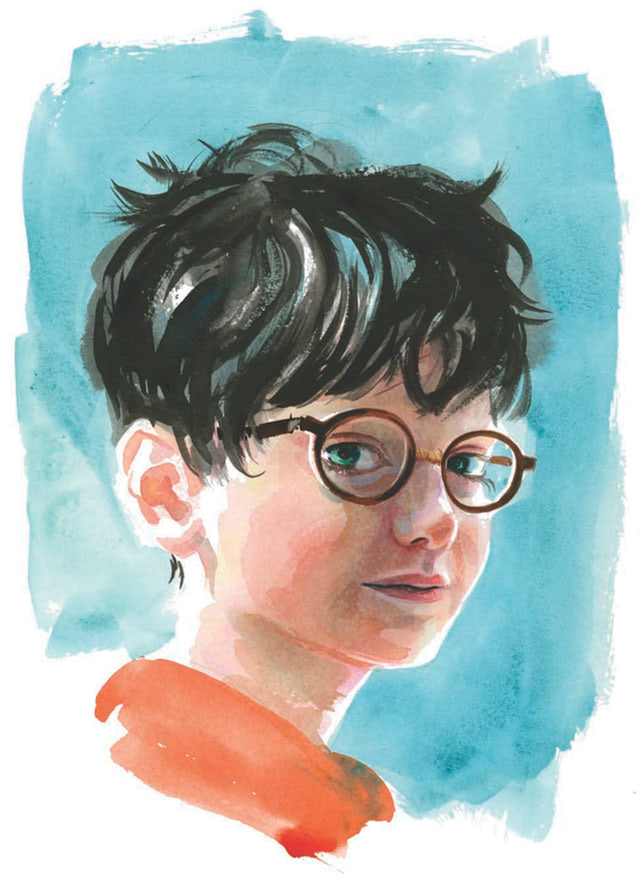 Harry Potter portrait