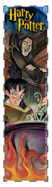 Potions lesson bookmark