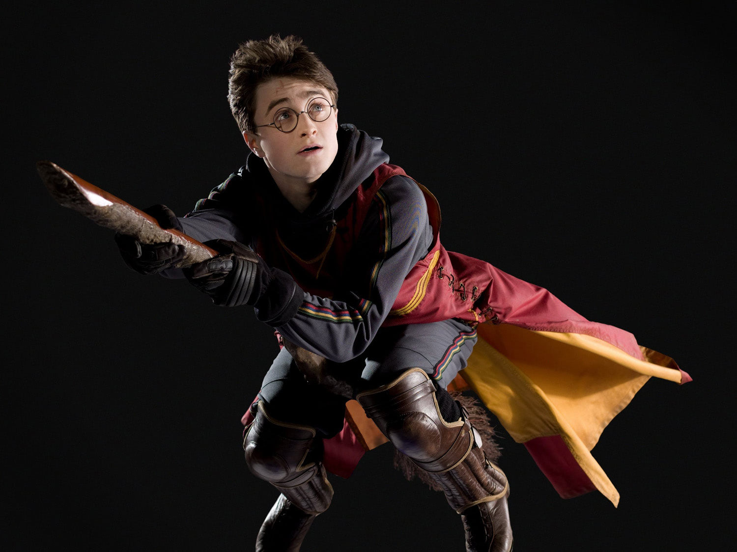 Portrait of Harry Potter in Quidditch robes