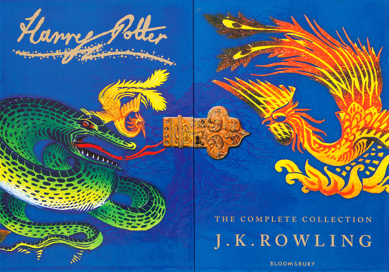 'Harry Potter' signature editions boxed set artwork