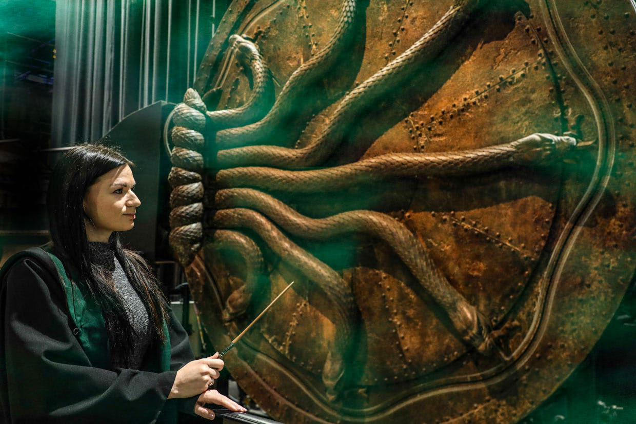 A Celebration of Slytherin ('Harry Potter' studio tour)