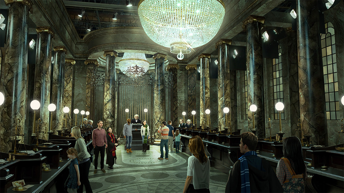 Gringotts Bank 'Harry Potter' studio tour expansion