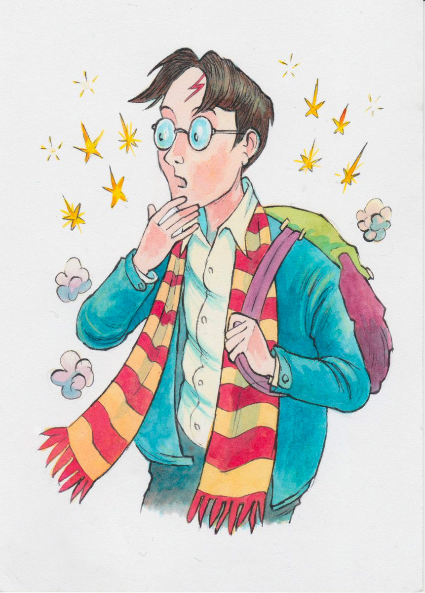Harry Potter (Thomas Taylor illustration)