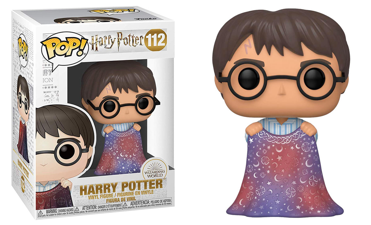 Harry Potter (With Invisibility Cloak) Pop! Vinyl