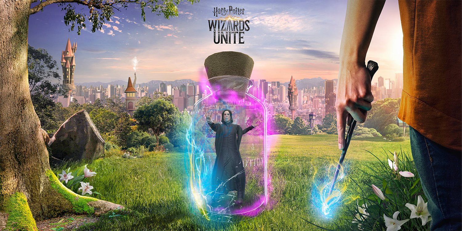 Snape in a jar ('Harry Potter: Wizards Unite')