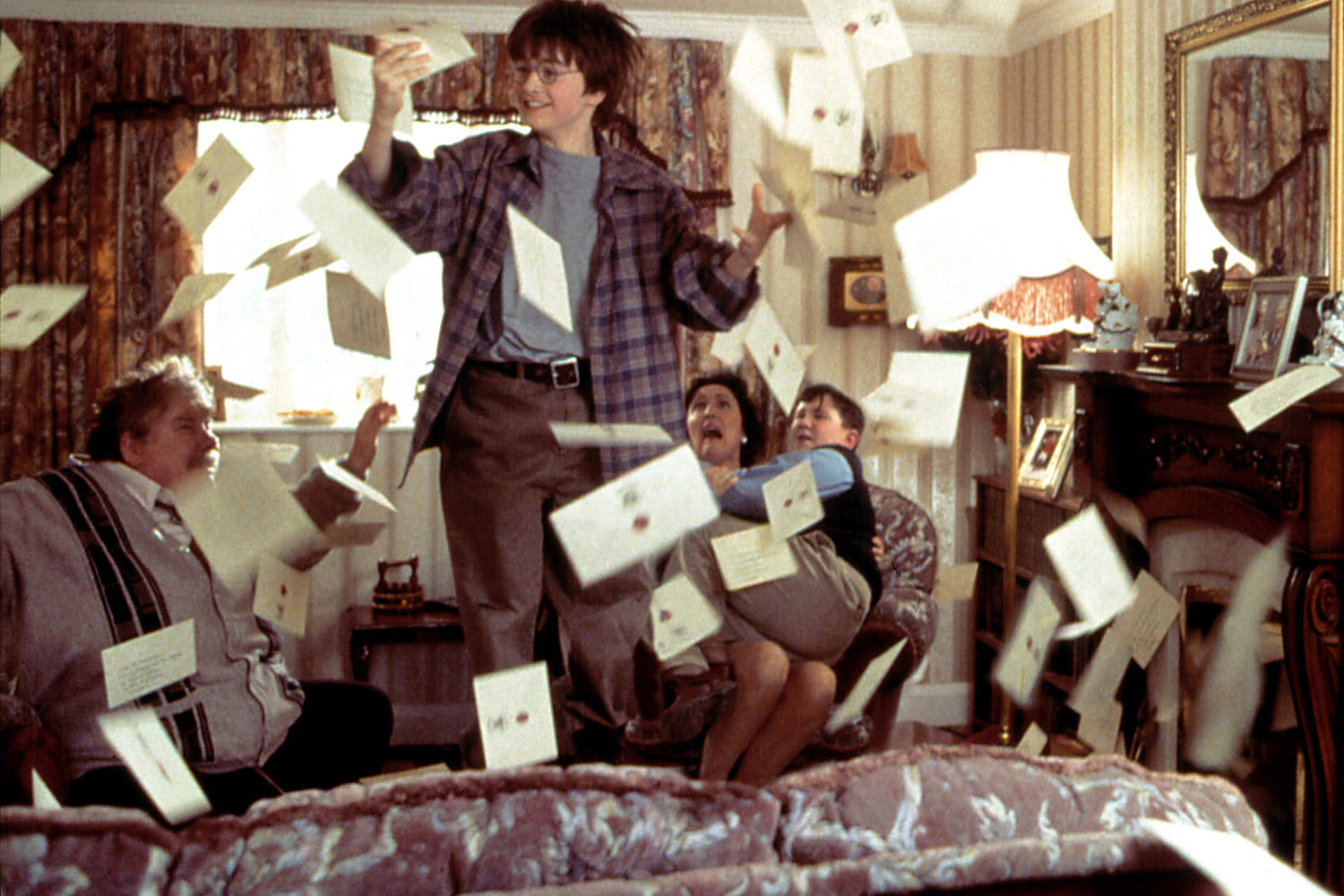 Harry receives his Hogwarts letters