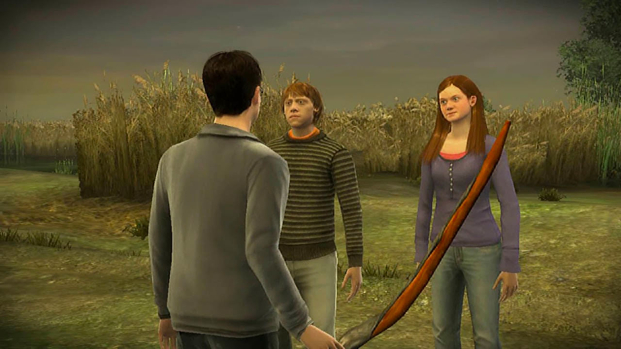 Harry, Ron and Ginny (Half-Blood Prince video game)