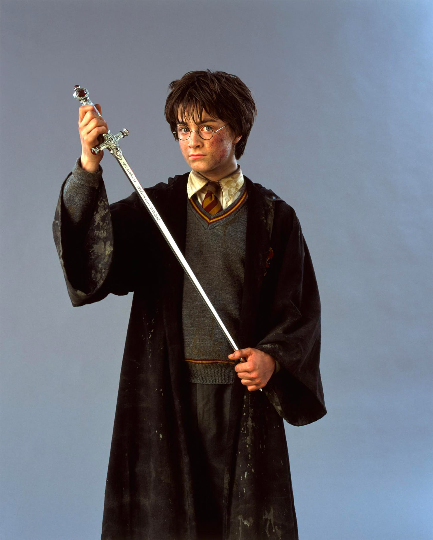 Portrait of Harry Potter with the Sword of Gryffindor