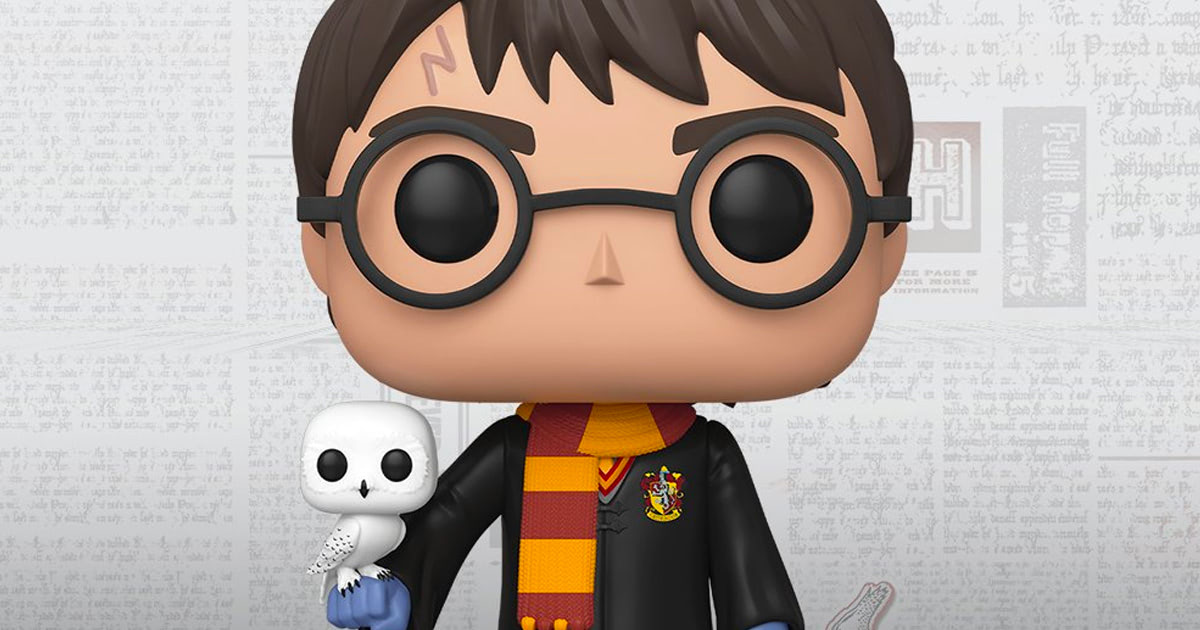 Funko unveil mega 18″ 'Harry Potter' Pop! Vinyl figure