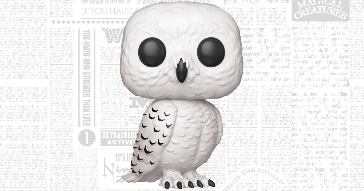 Funko's first 'Harry Potter' Pop! Vinyl for 2019 is a 10″ Hedwig