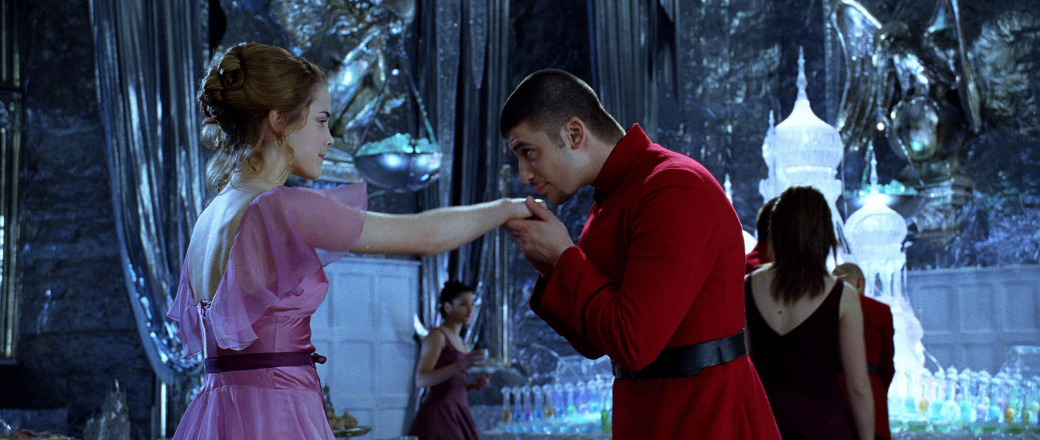 Hermione and Krum at the Yule Ball