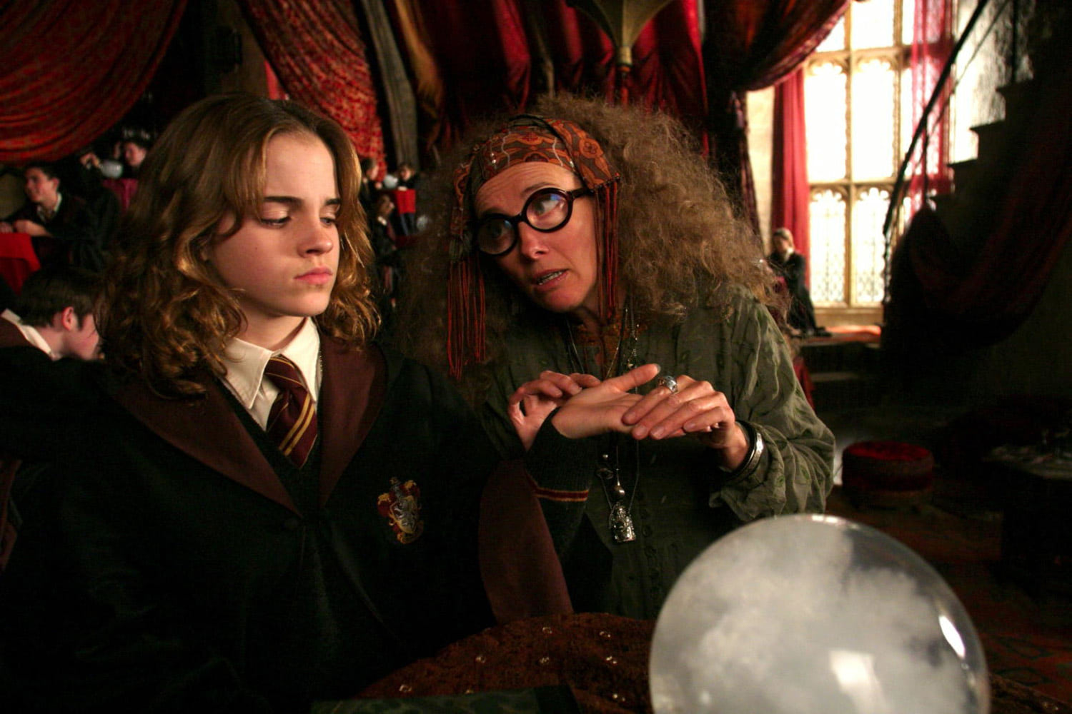 Hermione and Professor Trelawney