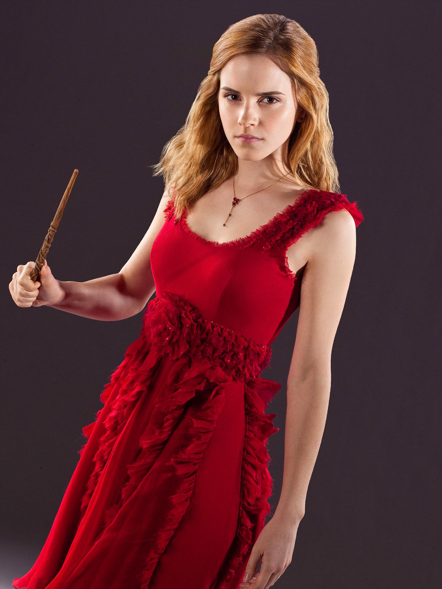 Hermione Granger wedding portrait