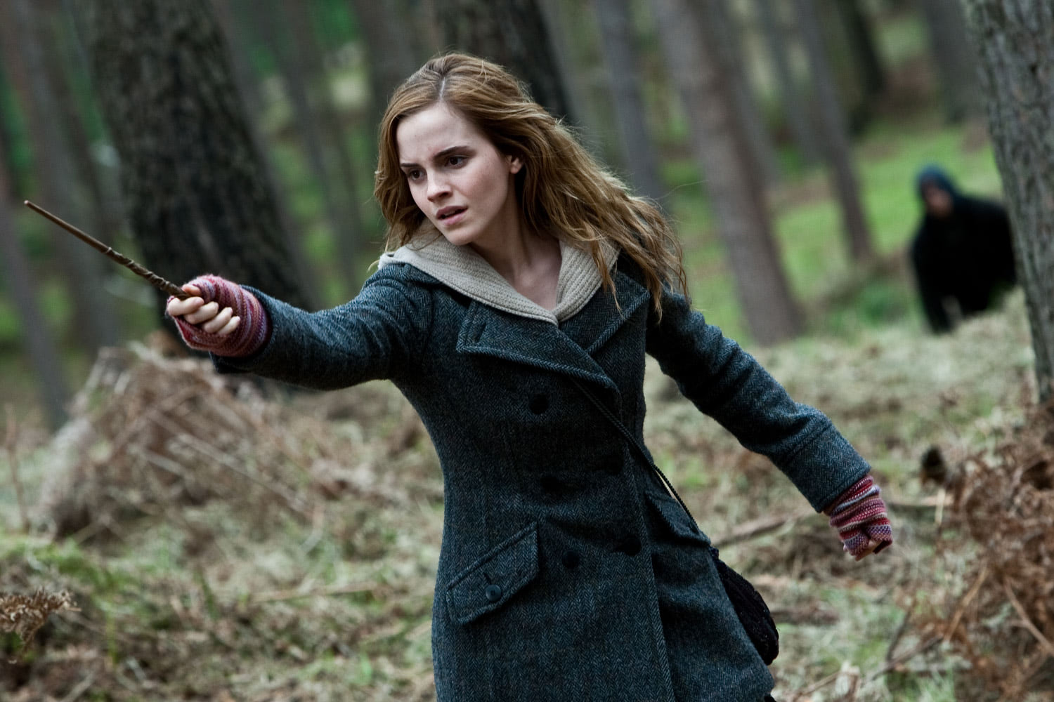 Hermione in the woods