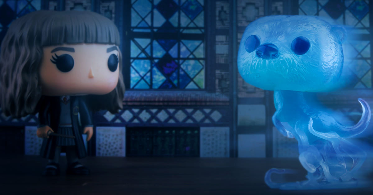 Hermione's otter Patronus Funko Pop! coming in February