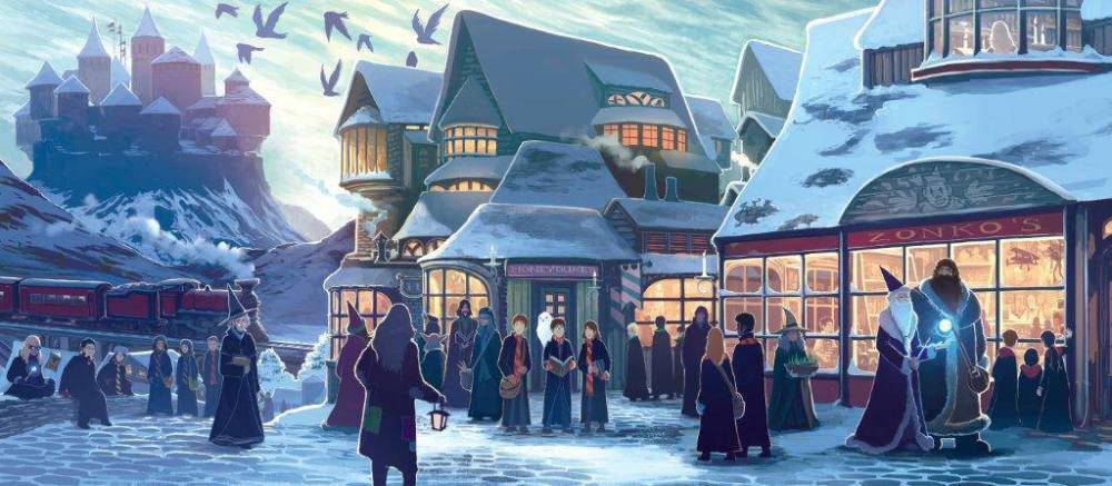 Hogsmeade  (Kazu Kibuishi illustration)