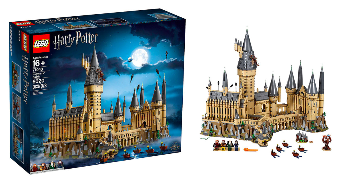 LEGO to release new 'Harry Potter', 'Fantastic Beasts' sets, plus 6000-piece Hogwarts Castle