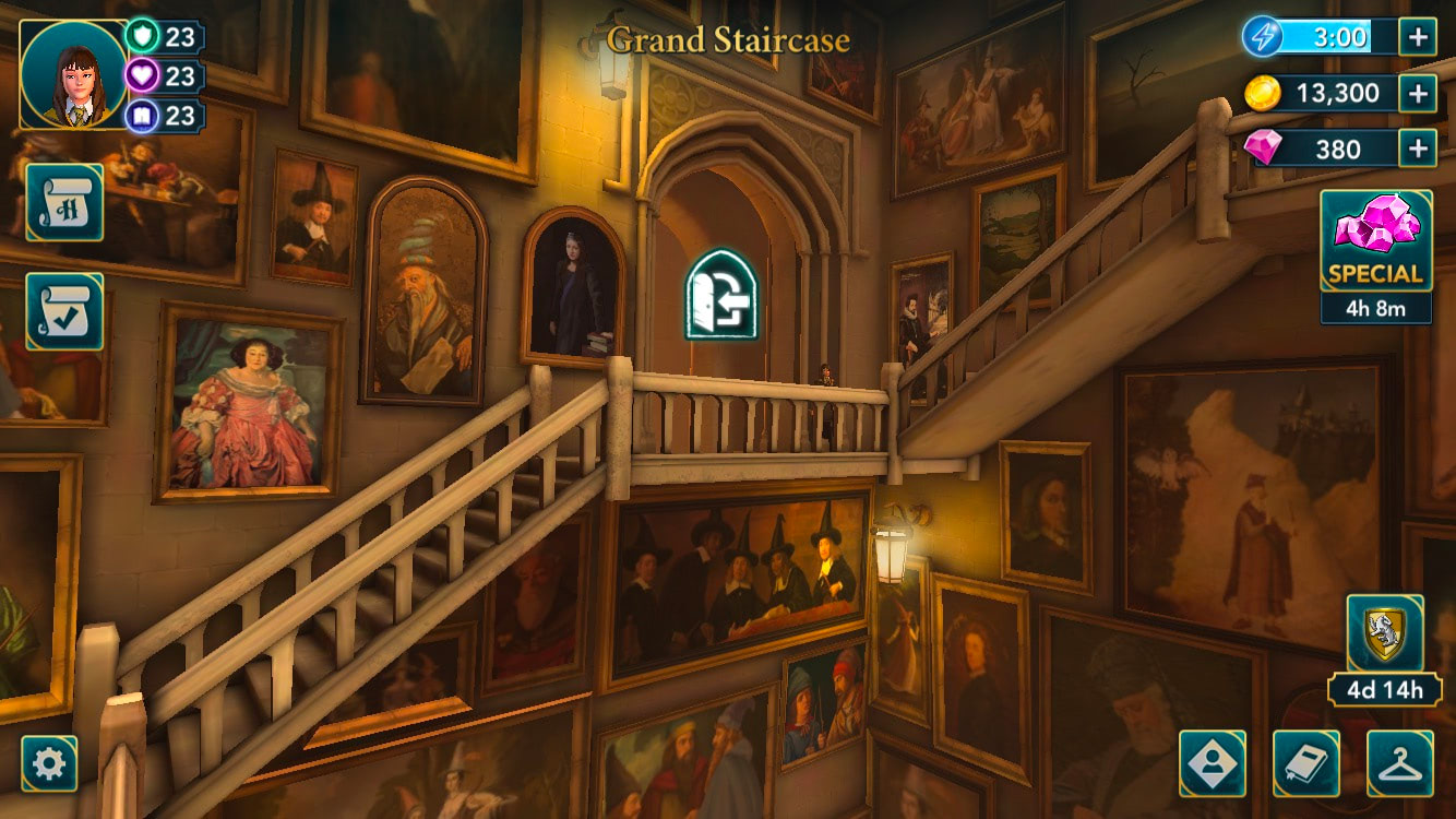 Hogwarts Castle (Hogwarts Mystery)