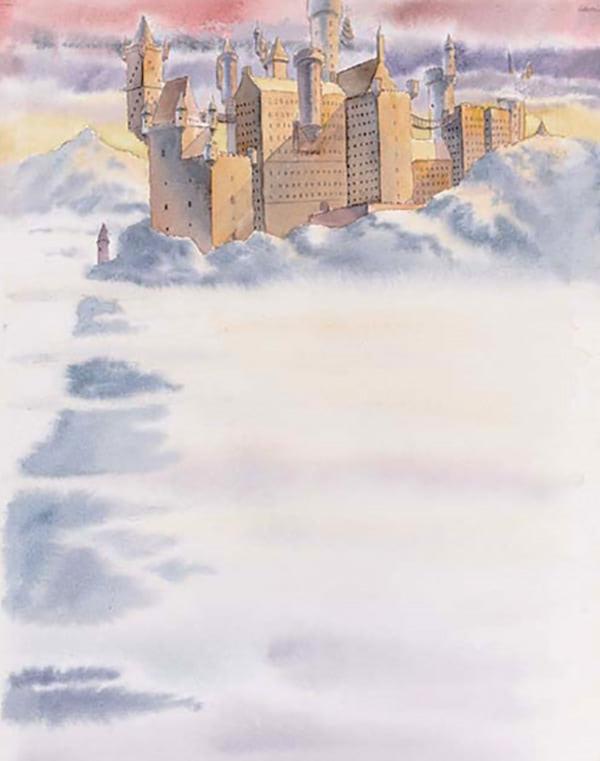 Hogwarts Castle (Cliff Wright illustration)