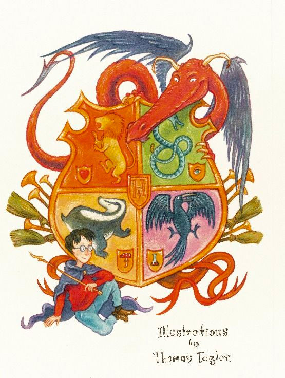 Hogwarts Crest (Thomas Taylor illustration)