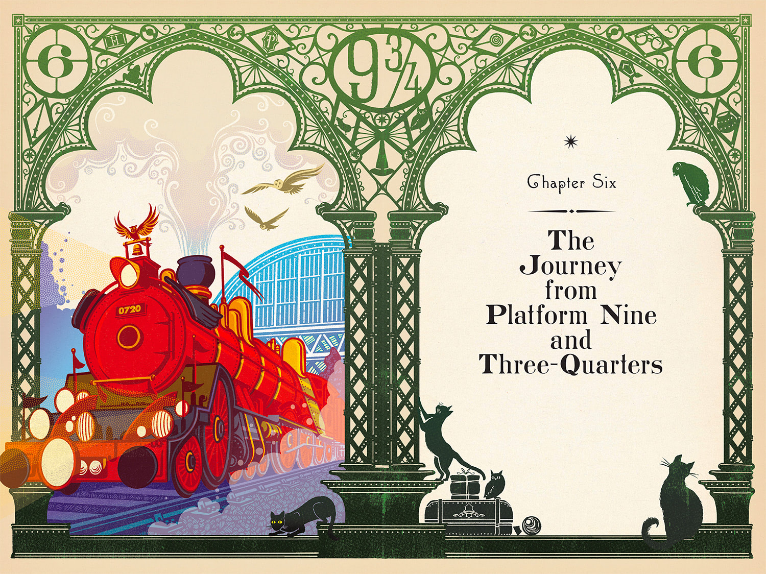 Hogwarts Express (MinaLima illustrated edition)