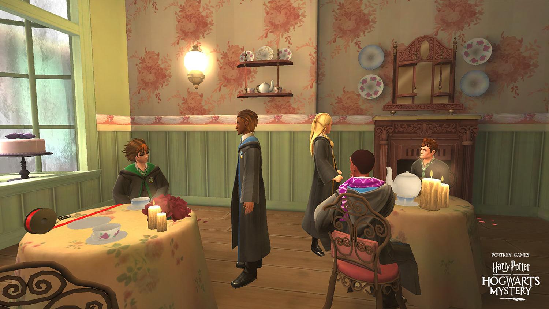 Valentine's Day date ('Harry Potter: Hogwarts Mystery')