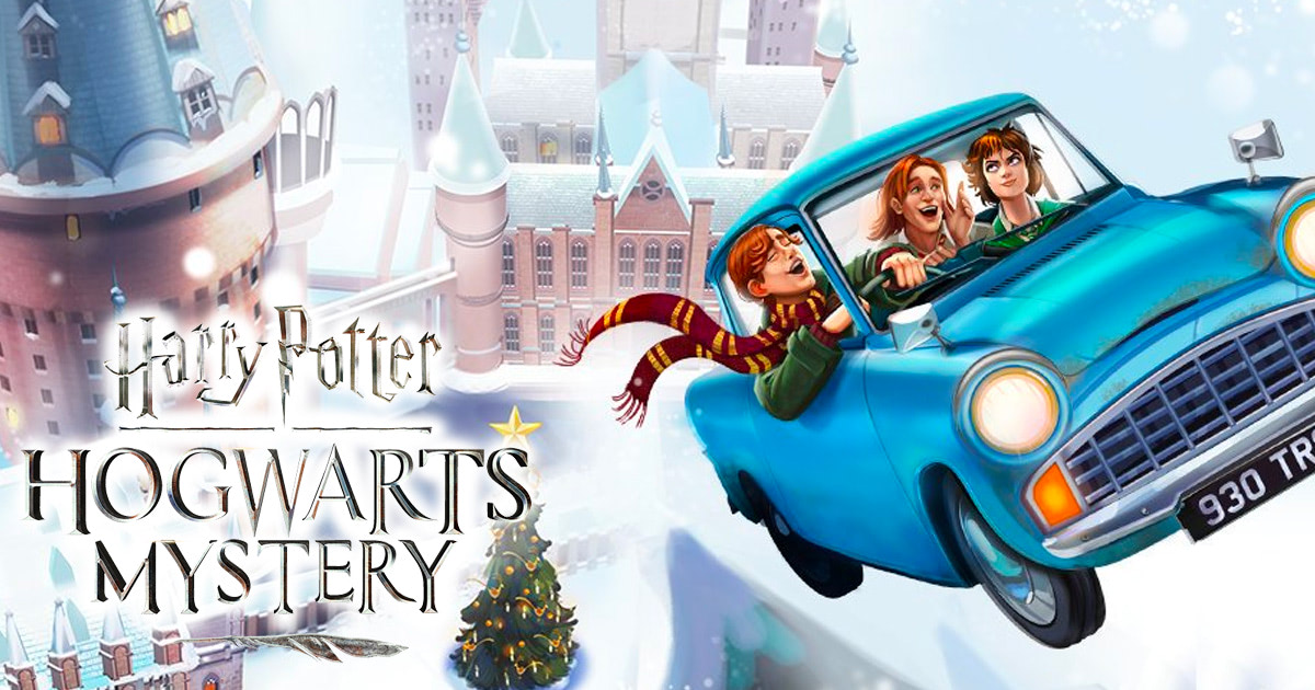 Spend the holidays with the Weasleys in 'Hogwarts Mystery'