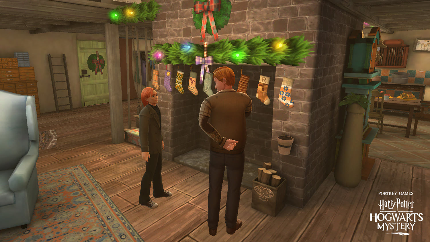 Spend the holidays with the Weasleys with 'Hogwarts Mystery'