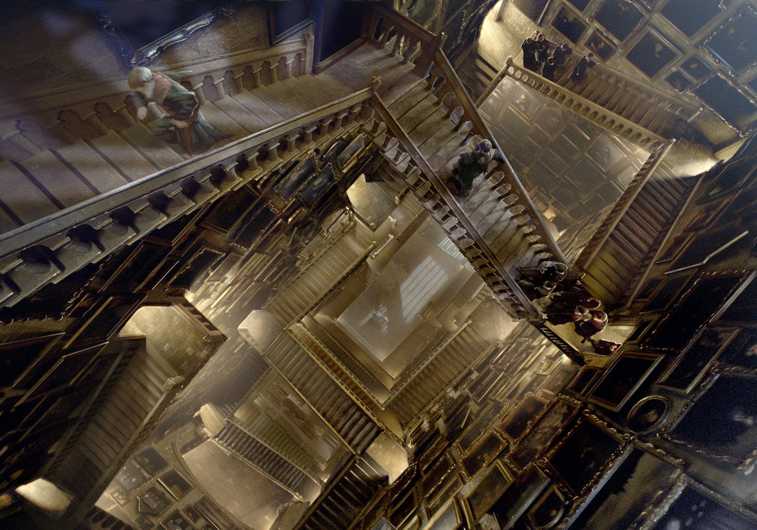 Hogwarts staircases