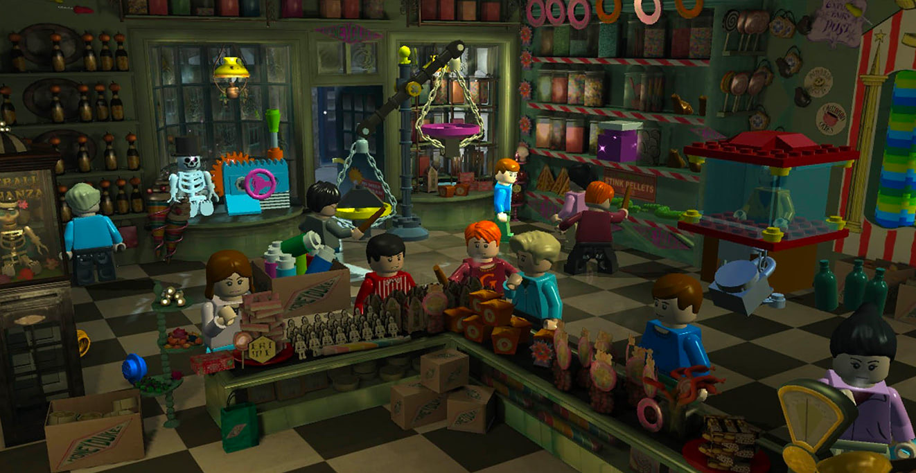 Honeydukes (LEGO Harry Potter: Years 1-4)