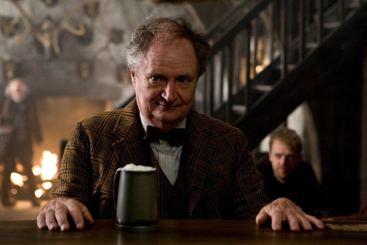 Horace Slughorn at The Three Broomsticks