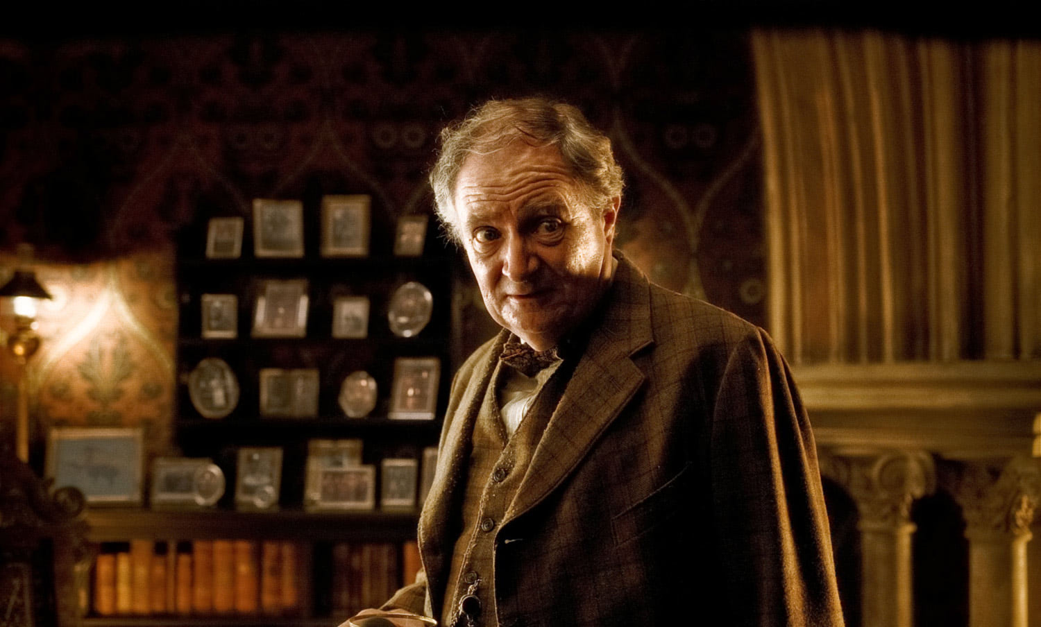 Horace Slughorn in his office